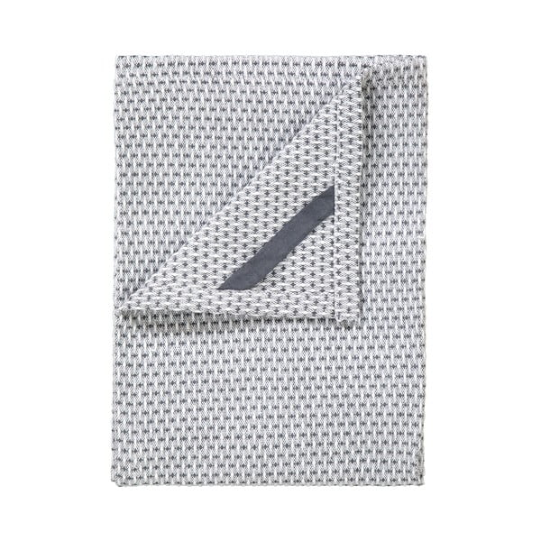 Sada 2 šedých bavlněných utěrek na nádobí Blomus Pattern, 50x70cm