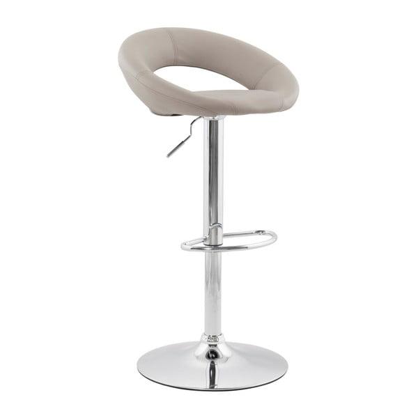Světle šedá barová židle Kokoon Atlantis