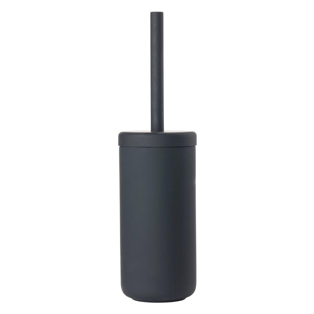 Černý WC kartáč Zone UME
