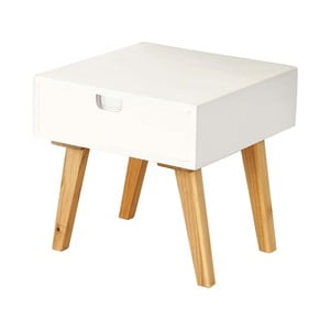 Konferenční stolek Vaasa White, 40x40 cm