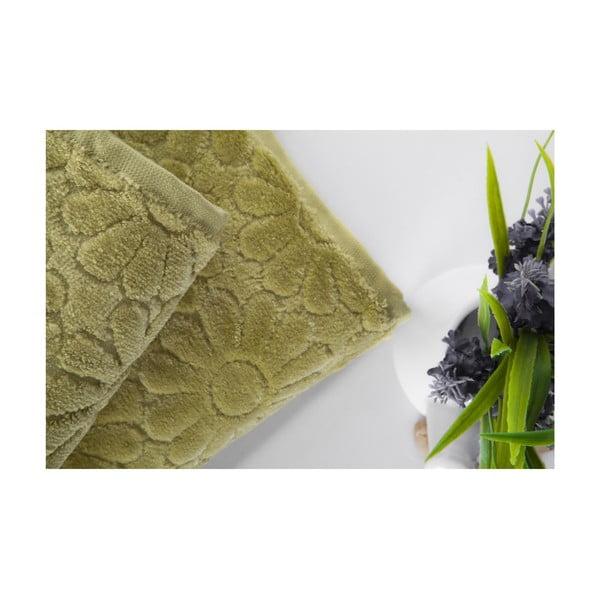 Set dvou ručníků Samba Green, 50x90 cm