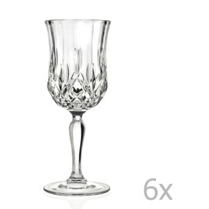 Sada 6 sklenic RCR Cristalleria Italiana Orabella