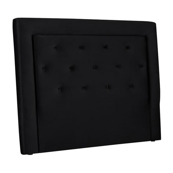 Černé čelo postele Cosmopolitan Design Cloud, šířka 160cm