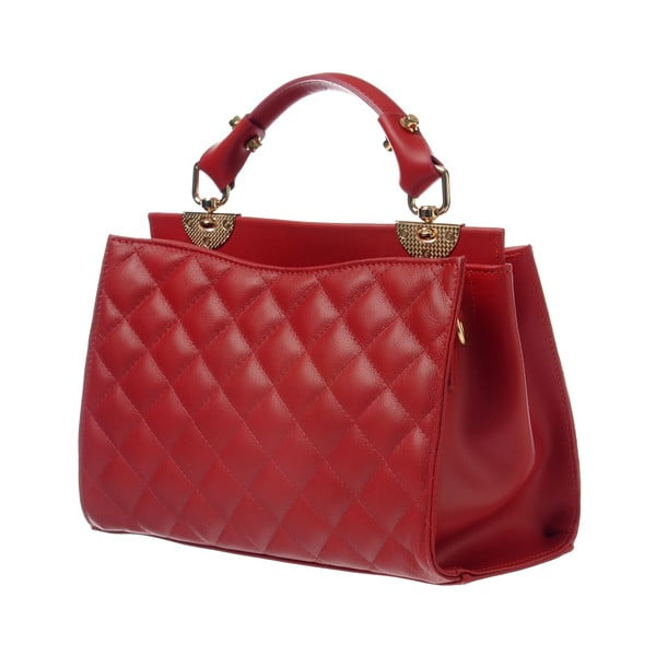 Kožená kabelka Coco Miss Red