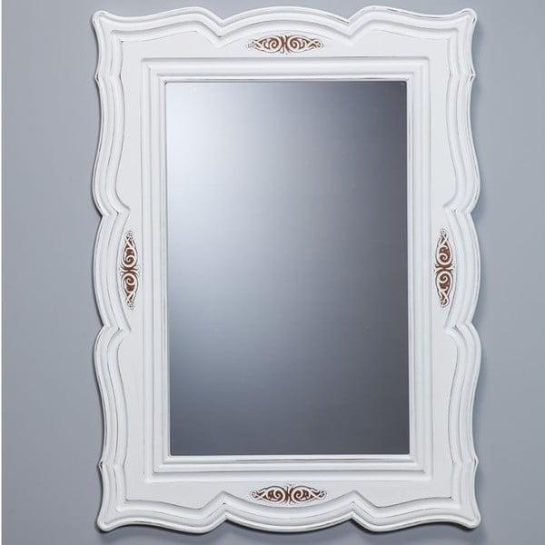Nástěnné zrcadlo Country White