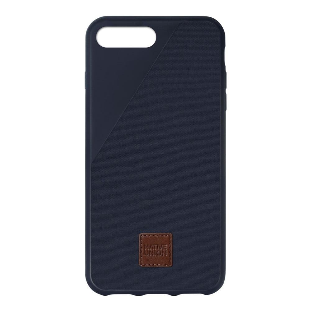 Tmavě modrý obal na mobilní telefon pro iPhone 6 a 6S Plus Native Union Clic 360 Case