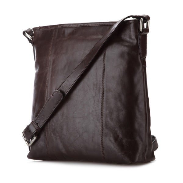 Kožená kabelka Elegance City Brown