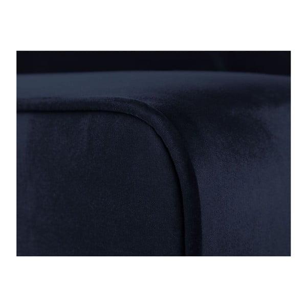 Tmavě modrá dvojmístná pohovka Cosmopolitan Design Denver