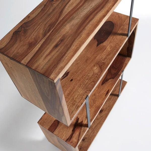 Knihovna ze dřeva sheesham La Forma Alia
