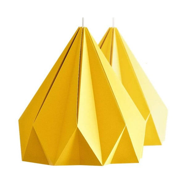 Origamica lustr Spring Light For Two Sunny Orange