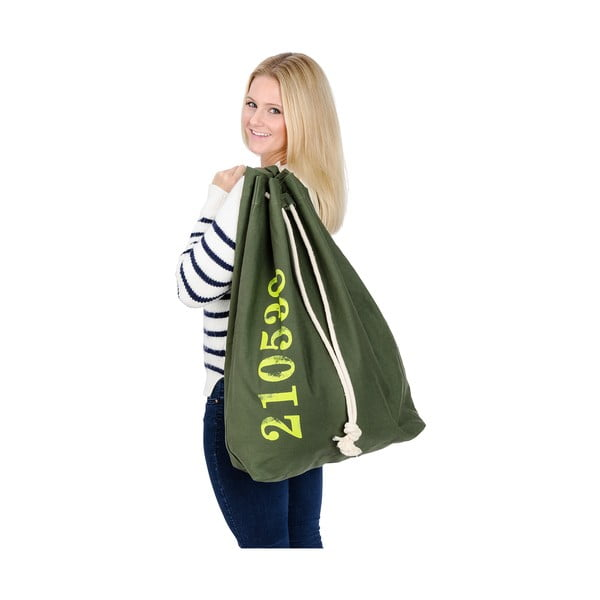 Závěsný koš na prádlo Sailor, zelený