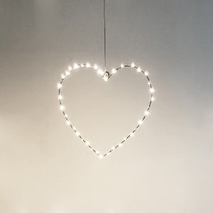 Světelná dekorace Opjet Paris Coeur, 30 cm