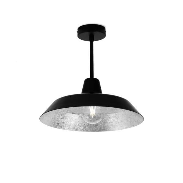 Lustră Bulb Attack Cinco Basic, negru - argintiu
