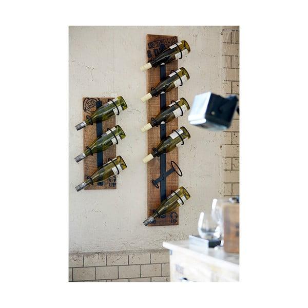 Nástěnný stojan na lahve vína Factory