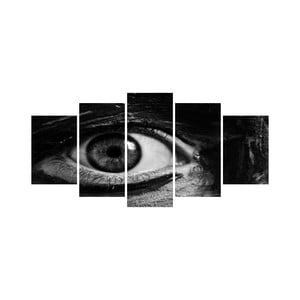 Vícedílný obraz Black&White no. 32, 100x50 cm