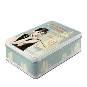 Plechová krabice Breakfast at Tiffany's