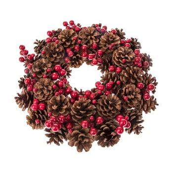 Coroniță Crăciun cu fructe și conuri Dakls Eliska, ø 34 cm imagine