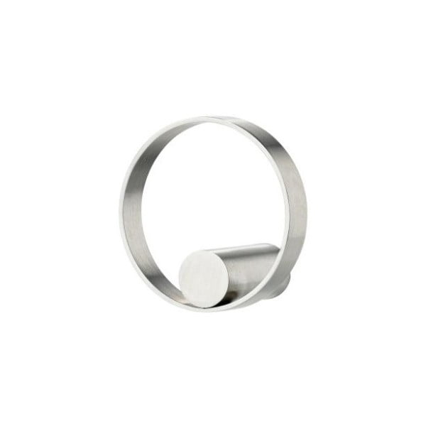 Ring rozsdamentes acél akasztó, ø 4,7 cm - zone