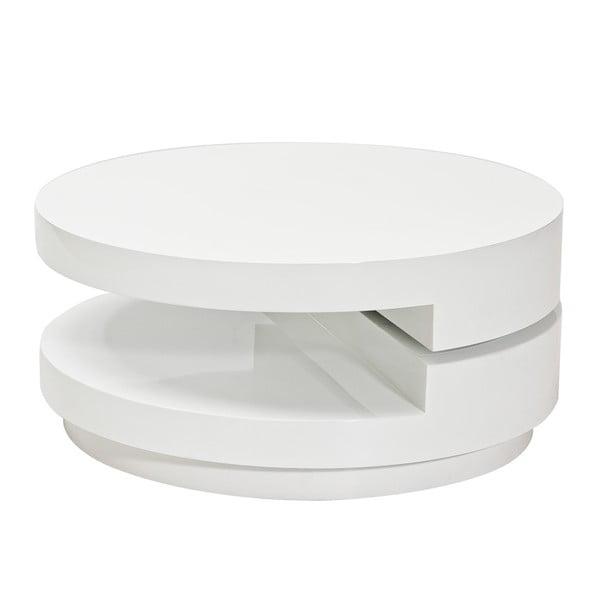 Konferenční stolek Fabiola, bílý