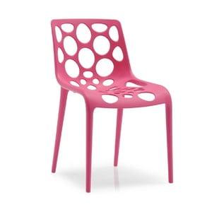 Calligaris židle Hero 1085, fuchsiová