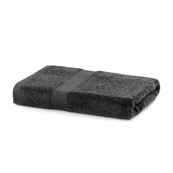 Tmavě šedý ručník DecoKing Marina, 70 x 140 cm