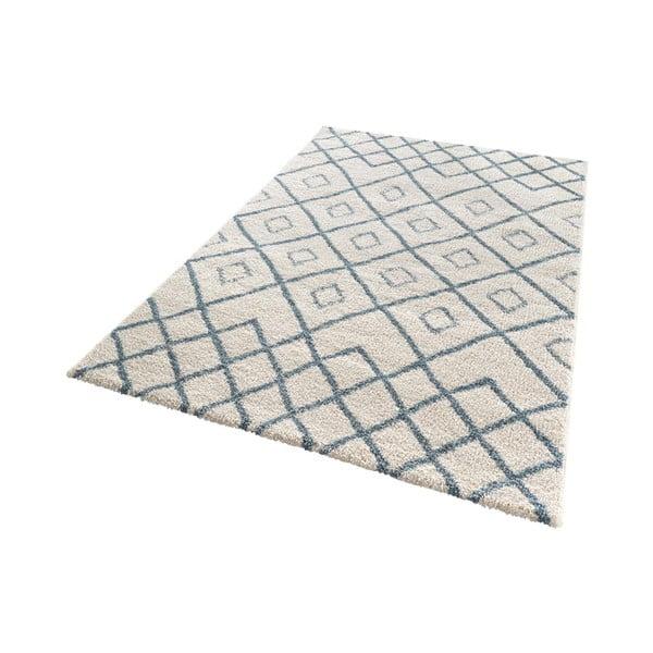 Bílý koberec Mint Rugs Draw, 80x150cm