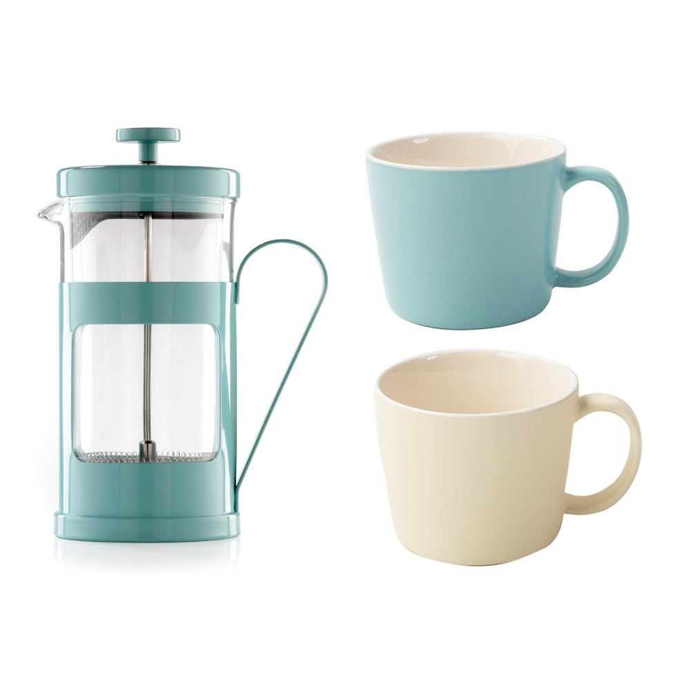 Set 2 hrnků a french pressu Creative Tops La Cafetiere