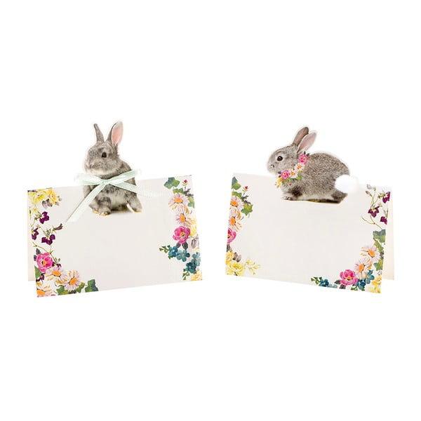 Sada 8 jmenovek Talking Tables Bunny