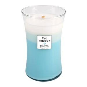 Lumânare parfumată WoodWick Trilogia, 609 g, timp de ardere 130 ore