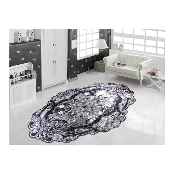 Koberec Vitaus Siyah, 100 x 160 cm