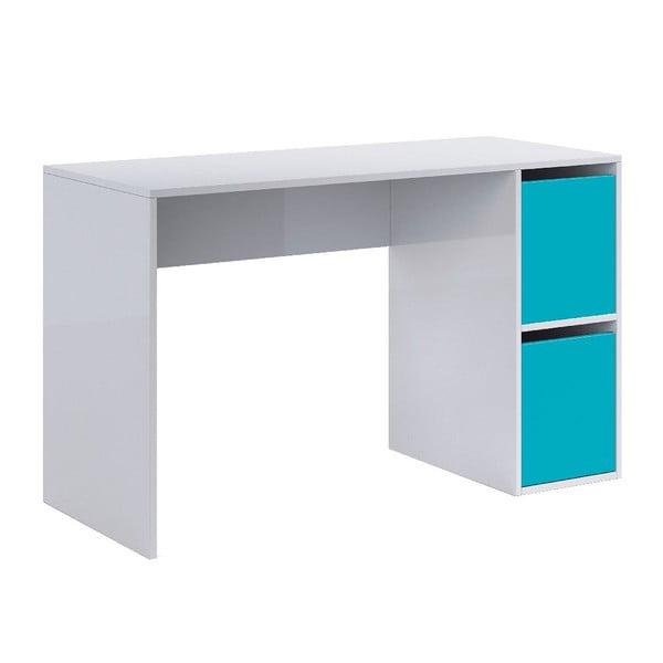 Modro-bílý pracovní stůl 13Casa Hesse