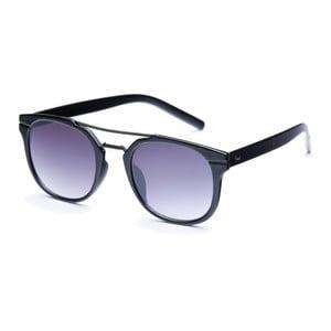 Sluneční brýle s černými obroučkami a šedými skly David LocCo Masstige Swanky