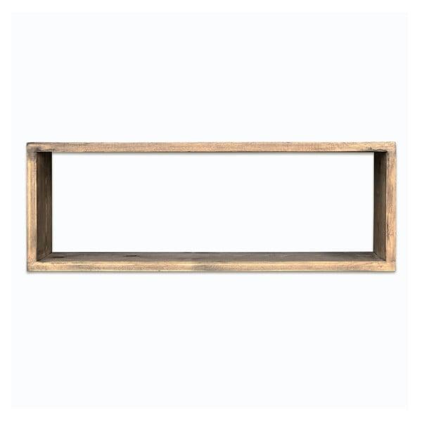 Dřevěná nástěnná police Simple