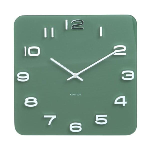 Ceas Karlsson Vintage, 35 x 35 cm, verde