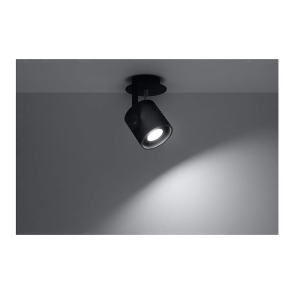 Černé stropní svítidlo Nice Lamps Lea 1