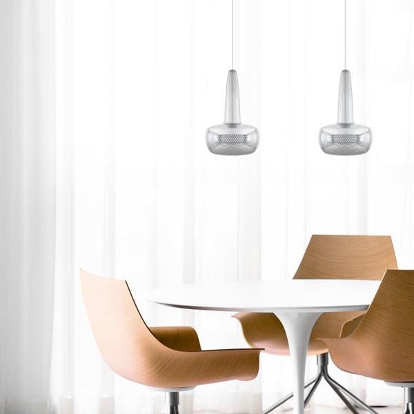 Stříbrné lesklé stropní stínidlo VITA Copenhagen Clava, Ø21,5cm