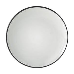 Černý dezertní talíř Price&Kensington Cosmos,⌀ 20cm