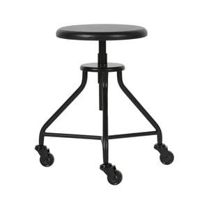 Černá stolička WOOOD Royce