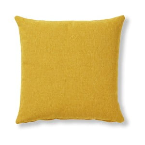 Žlutý polštář La Forma Mak, 45 x 45 cm