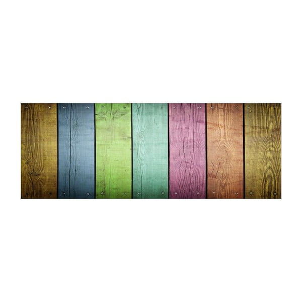 Vinylový koberec Tablas Colores, 50x100 cm