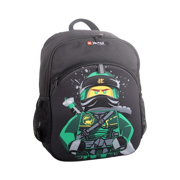 Czarny plecak LEGO® NINJAGO Lloyd, 27,5x37x9 cm