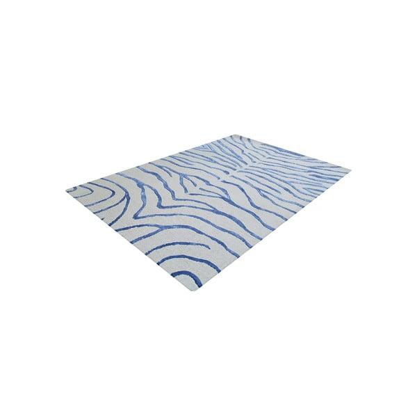 Koberec Bakero Zebra Light Blue, 153x244 cm
