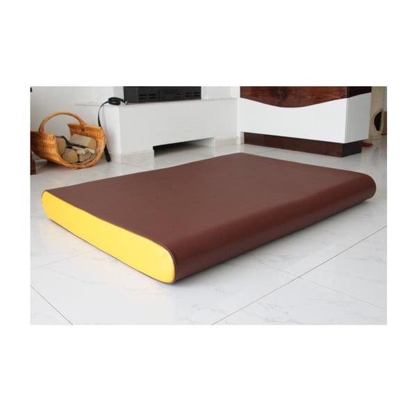 Zdravotní matrace pro psy Benji, hnědá/žlutá
