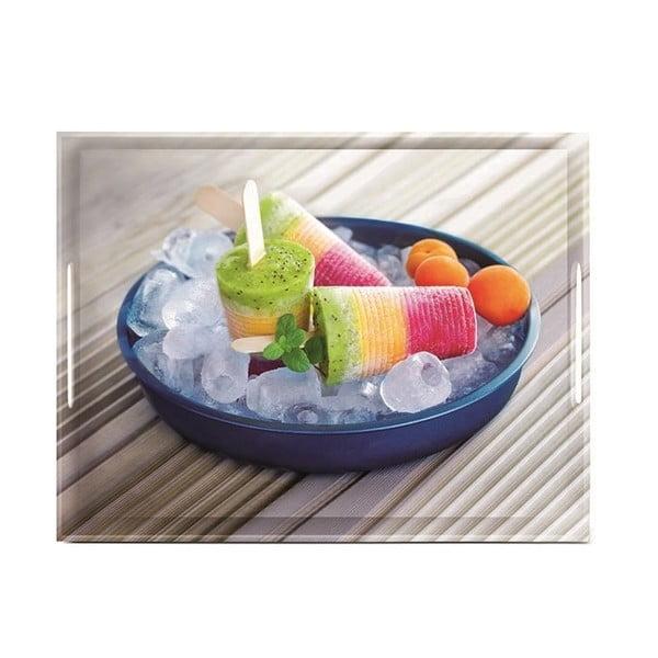 Podnos Classic Summertime Ice Cream, 40x31 cm