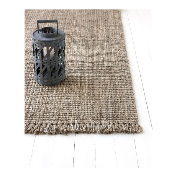 Jutový koberec Linie Design Surface Natural, 200x300 cm