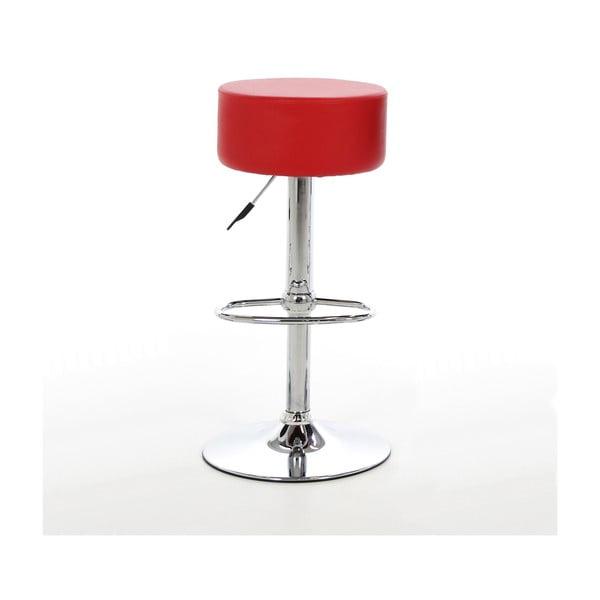 Barová židle Dumpling, červená