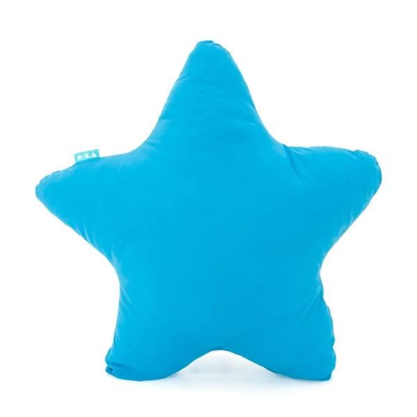 Tyrkysový bavlněný polštářek Happy Friday Basic Estrella Turquoise, 50x50cm