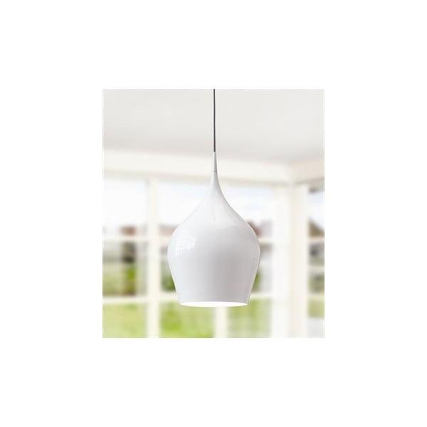 Elegantní stropní lustr Drop, bílý