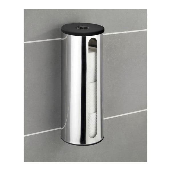 Nástěnný samodržící zásobník na toaletní papír Wenko Turbo-Loc Detroit