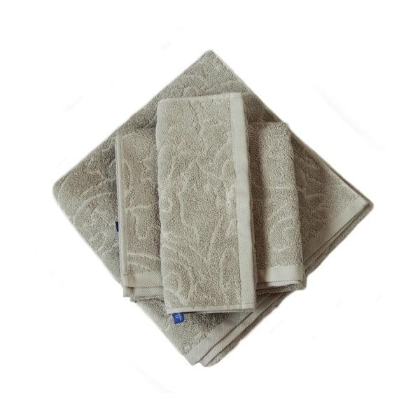 Ručník Seaside 100x50, šedý